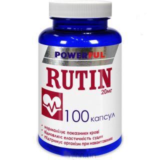 RUTIN 100 kapslí přírodní prostředek proti rakovině, doplněk stravy na ochranu buněk
