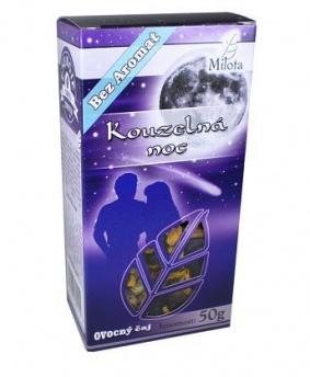 KOUZELNÁ NOC - ovocný sypaný čaj 50g spánek,únava,relaxace