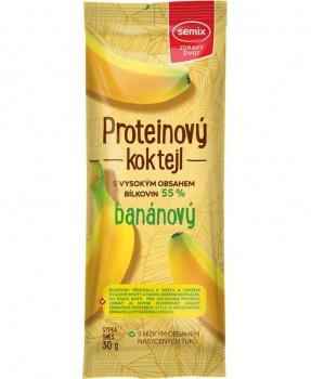 PROTEINOVÝ KOKTEJL - BANÁN 30g proteinový koktejl,protein,banán,bílkoviny,svačina