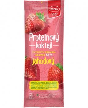 PROTEINOVÝ KOKTEJL - JAHODA  30g proteinový koktejl,protein,jahody,bílkoviny,svačina