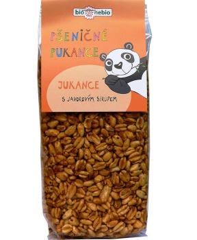 PŠENIČNÉ JUKANCE s javorovým sirupem bio 150 g pšeničné pukance pro děti