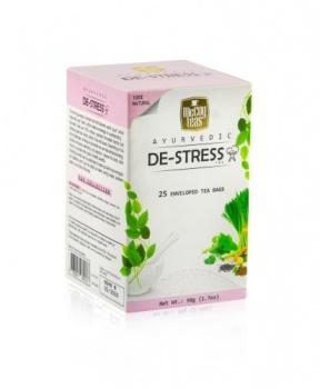 AJURVÉDSKÝ ČAJ PROTI STRESU 50g ajurvédký čaj,stres,uklidnění,proti stresu,čaj proti stresu,ajurvéda,zelený čaj,srílanský čaj,gotu kola,zázvor,fenykl,kmín,levandule