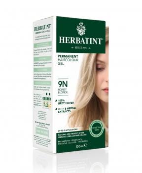 PERMANENTNÍ BARVA MEDOVÁ BLOND 9N 150ml permanentní barva na vlasy, barva na vlasy, medová blond, přírodní barva, herbatint