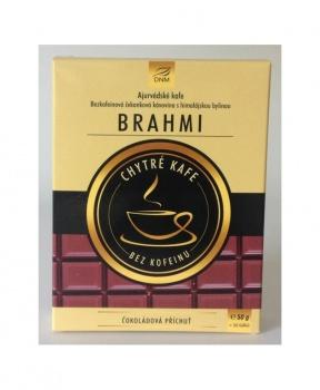 AJURVÉDSKÉ KAFE - BRAHMI ČOKOLÁDA 50 g  ayurvédské kafe, ajurvédské kafe brahmi, čokoláda