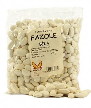 FAZOLE BÍLÁ 400 g bílá fazole, fazole bílá