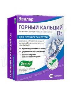 HORSKÝ VÁPNÍK S MUMIEM 80 ks vápník, vitamín D3