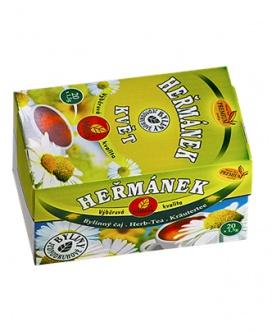 HEŘMÁNEK KVĚT porcovaný čaj 30g heřmánek, heřmánek květ, zimnice, játra, močopudný, proti křečím, bolest hlavy, proti bolesti hlavy
