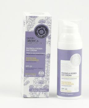 Denní krém s rhodiolou - citlivá pleť 50 ml denní omlazující krém, natura siberic, citlivá pleť