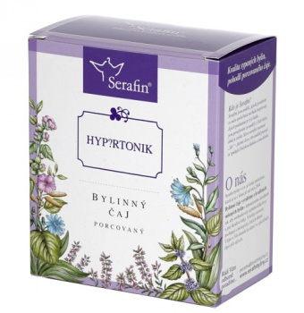 HYPERTONIK - porcovaný čaj  hypertonik porcovaný, čaj na tlak porcovaný, vysoký tlak, caigua