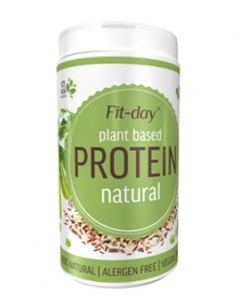 FIT-DAY PROTEIN NATURAL 600 g protein, natural, vegan