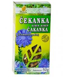 ČEKANKA KOŘEN 50 g čekanka, čekankový kořen, čekanka kořen, kořen čekanky, náhražka kávy, játra, žloutenka, nechutenství, zácpa