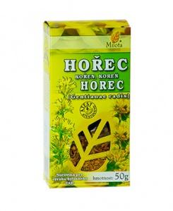 HOŘEC ŽLUTÝ KOŘEN 50 g hořec žlutý kořen, hořec, nechutenstvím, trávení, nadýmání, žaludek, žaludeční katar, hlísty