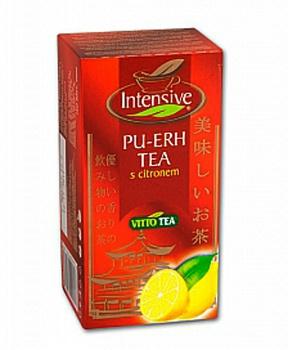 PU-ERH TEA s citronem porcovaný čaj 30g puerh s citronem, pu-erh porcovaný