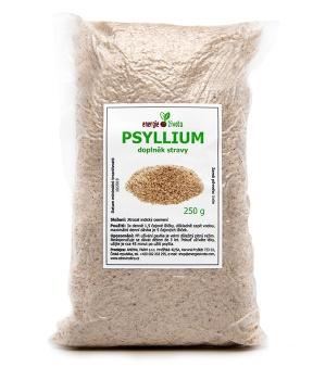 PSYLLIUM 250 g psyllium, jitrocel indický, hubnutí, zácpa, průjem