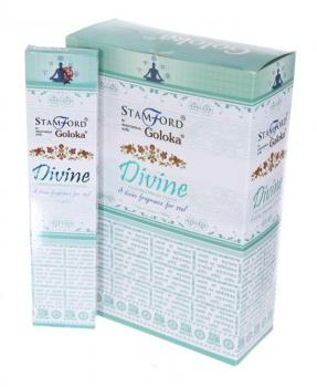 VONNÉ TYČINKY - GOLOKA DIVINE 15 g vonné tyčinky,divine,goloka divine,mozek,uklidnění,stres,aromaterapie