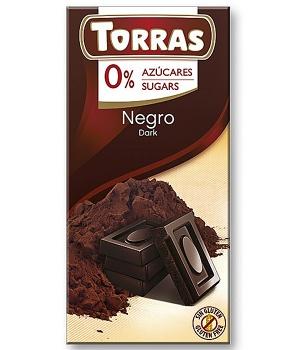 DIA HOŘKÁ  ČOKOLÁDA  52% 75 g dia hořká čokoláda, vysokoprocentní hořká čokoláda bez cukru