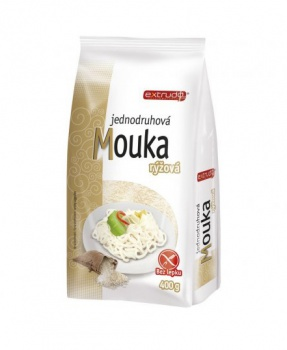RÝŽOVÁ MOUKA výběrová 400 g rýžová mouka, výběrová rýžová mouka, bez lepku, bezlepková mouka