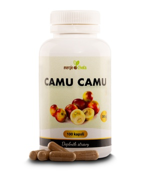 CAMU CAMU KAPSLE extrakt vitamin C 100 tob. vitamin C,chřipka,nachlazení,virus,viróza