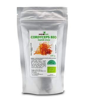 Cordyceps sinensis BIO 100 g cordyceps,energie,únava,dlouhověkost,jing,jang,tčm,stres