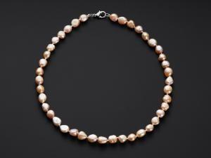 PERLY ŘÍČNÍ náhrdelník 47 cm říční perly náhrdelník, náhrdelník, říční perly, perly