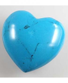 TYRKENIT HOWLIT srdce vrtané 3 cm howlit tyrkenit, tyrkenit, howlit, stres, hubnutí, imunita, dna