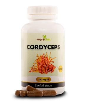 CORDYCEPS 100 kapslí