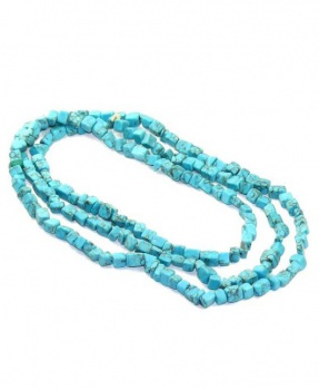 TYRKENIT HOWLIT náhrdelník  40 cm