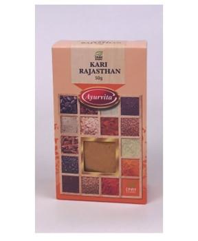 KARI RAJASTHAN středně pálivé 50 g  indické kari, kari rajasthan