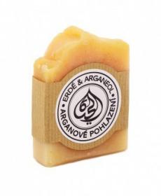 ARGANOVÉ POHLAZENÍ mýdlo 100 g arganové mýdlo, arganové pohlazení, sagrada natura, přírodní mýdlo, mýdlo