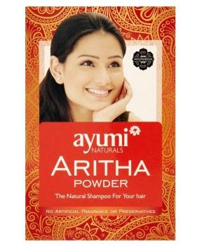 PRÁŠEK ARITHA šampon 100g přírodní šampon, šampon, aritha