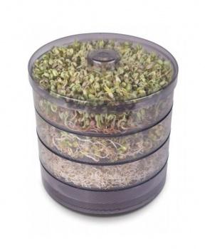 BIOMISKA NA KLÍČENÍ SEMEN 1 ks bio miska,miska na klíčení,naklíčená semínka,klíčky,vitamíny,semínka,mungo,chia