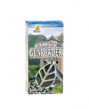 GUNPOWDER zelený čaj sypaný 70g zelený čaj,gunpowder