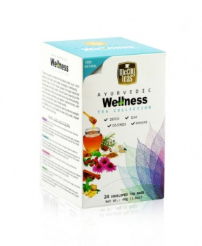 AJURVÉDSKÝ WELLNESS ČAJ 48g ajurvédský čaj, wellness, ayurvéda, stres, hubnutí