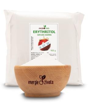 ERYTHRITOL 400 g erythritol, sladidlo, cukr, dieta, hubnutí