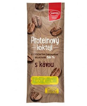 PROTEINOVÝ KOKTEJL - S KÁVOU  30 g proteinový koktejl,protein,káva,bílkoviny,vláknina,svačina