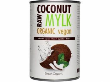 KOKOSOVÝ MYLK 400 ml kokosová dužina,kokosový extrakt,náhrada mléka,rostlinné mléko,vegan,bio,kokos