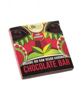 ČOKOLÁDA MALINOVÁ RAW BIO 35 g raw, bio, bio čokoláda, raw čokoláda, malina