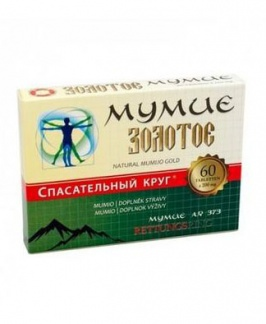 MUMIO GOLD 60 tablet mumio gold, mumio