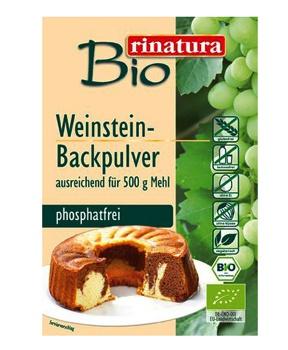 KYPŘÍCÍ PRÁŠEK bezlepkový, bio, bez fosfátů 18 g bio,vegan,vinný kámen,pečení,bez lepku