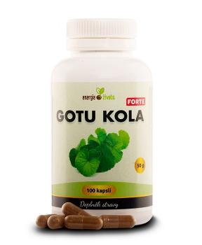 GOTU KOLA FORTE extrakt 100 tob. mozek,paměť,koncentrace,dlouhověkost,myšlení,krevní oběh,cévy,těžké nohy,srdce,trávení,brahmi,extrakt,demence,alzheimer