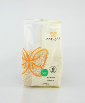 QUINOA VLOČKY 200 g quinoa, quinoa vločky, hubnutí, bez lepku, vločky