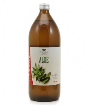 ALOE šťáva 1000 ml aloe, trávení, paraziti, únava, energie, imunita, kůže