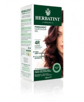 PERMANENTNÍ BARVA MĚDĚNÝ KAŠTAN 4R 150ml permanentní barva na vlasy, barva na vlasy, měděný kaštan, měděná, kaštan, hnědá, přírodní barva na vlasy, herbatint