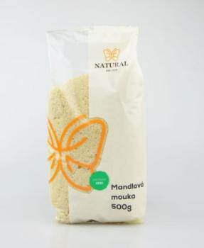 MANDLOVÁ MOUKA 500 g mandlová mouka, mandle, hořčík, pečení, bezlepkové pečení, cukroví, nahrazení mouky
