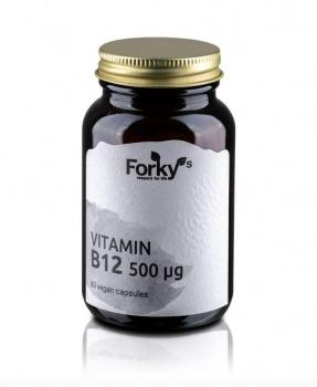 VITAMÍN B12 60 kapslí vitamín B12, B12, vitamín, anémie, železo, energie, vegan