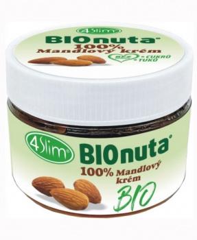 MANDLOVÝ KRÉM BIO 250 g mandlový krém,mandle,ořechy,pomazánka,nutela,raw,bio,vegan,low carb