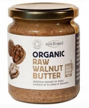 PASTA Z VLAŠSKÝCH OŘECHŮ BIO, RAW vlašská jádra,zinek,mozek,vlašské ořechy,ořechy,pasta z ořechů,ořechová pasta,vegan,bílkoviny,bio,raw,alfalinolenová,vitamín B,vitamín E