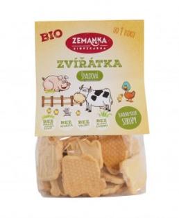 ŚPALDOVÁ ZVÍŘÁTKA 100 g dětské sušenky, špaldové sušenky