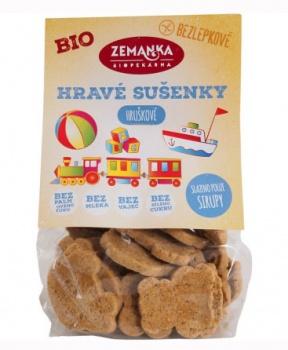 POHANKOVO-HRUŠKOVÉ SUŠENKY 100 g dětské sušenky, pohankové sušenky