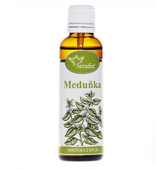 MEDUŇKA - Z BYLIN 50 ml Meduňka, serafin, uklidnění, stres, opary, spánek, trávení